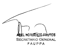 Firma Abel Frutos