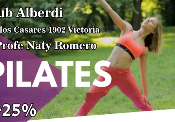Promoción Pilates en el Club Alberdi